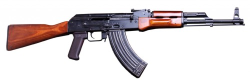 Is the AK-47 a machine gun?