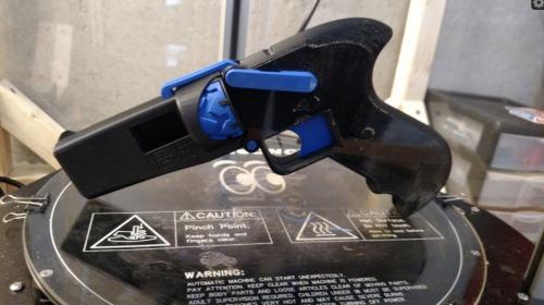 22 caliber 3d printed plastic gun