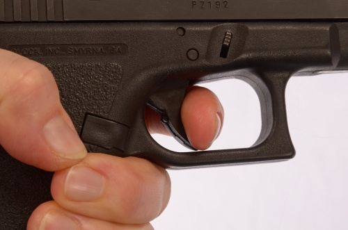 Glock trigger safety writing fiction
