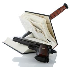 Need help writing guns knives fiction