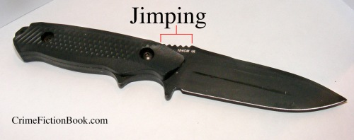 What is Jimping Writing Knives Fiction