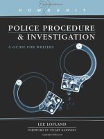 Police Procedure and Investigation