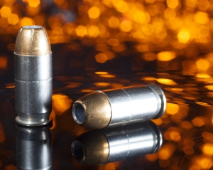 Hollow-point bullets aren't designed to pass through targets because they break apart upon impact. These hollow points have a copper jacket, which means they penetrate a little farther into a target before breaking apart. (Shutterstock photo)