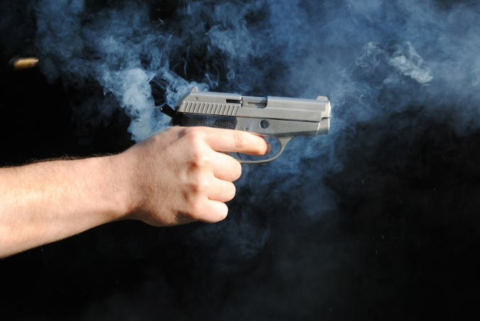 A literal smoking gun isn't as helpful nowadays as it was back in the dirty days of blackpowder. (Shutterstock photo)