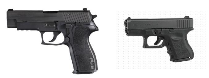 Sig Sauer P227 Glock 27