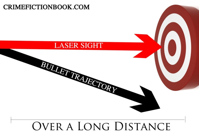 Keep this in mind. Laser sights aren't cut out for long-distance shots, like the ones from a character's sniper rifle. (Target image by Steven Goodwin via sxc.hu)