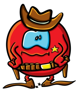 "You say ""tomato sheriff,"" I say ""that's a new take on the spaghetti Western."" (Shutterstock photo)"
