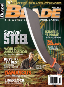 This interview originally appeared in the July 2011 edition of BLADE magazine. Click the cover to download the full issue.