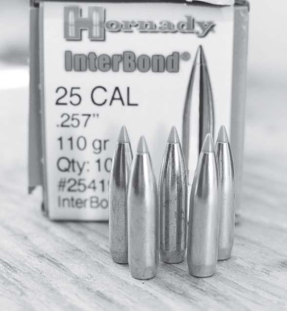 Spitzer boat-tail bullets. (Gun Digest photo)