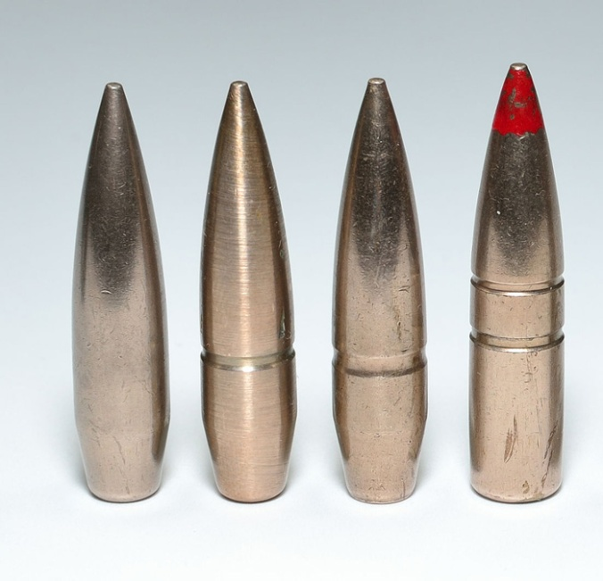 Spitzer bullets guide to firearm projectiles