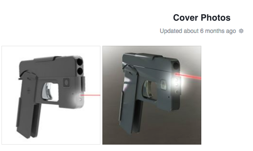 Photos of iPhone smartphone gun firearm concealed carry