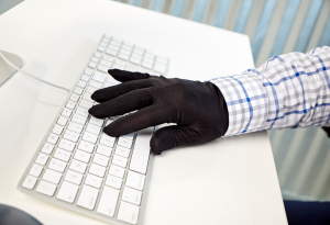 warm typing gloves
