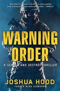 warning order military fiction joshua hood