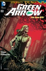 Green Arrow Bow Comic Cover