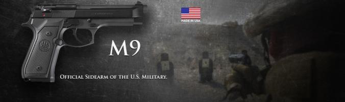 M9 Beretta military purposes